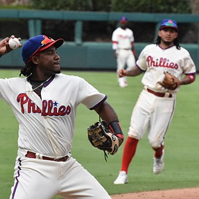 A few photos from this past Sunday's Phillies - Marlins game