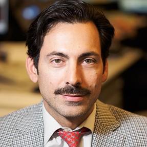Movember portrait.  EM-1, 75mm f1.8, FL-50R flash.