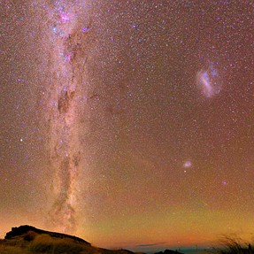 Milkyway pano with Samyang 24/1.4 - The Colour of the Night Sky!
