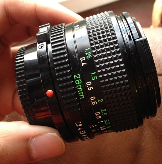Canon FD 28mm f2 8 and E-mount to FD adapter: For Sale and Wanted