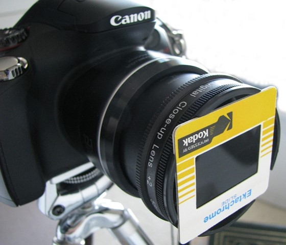 35mm Slide Digitizing with the Canon SX40: Canon PowerShot
