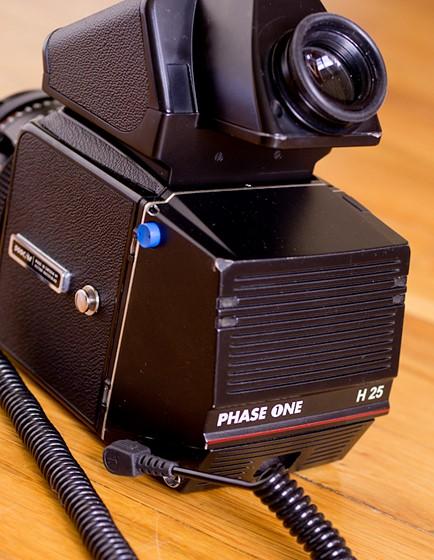 Hasselblad 500c/m w/ Phase One H25 Digital Back, 80mm f/2 8