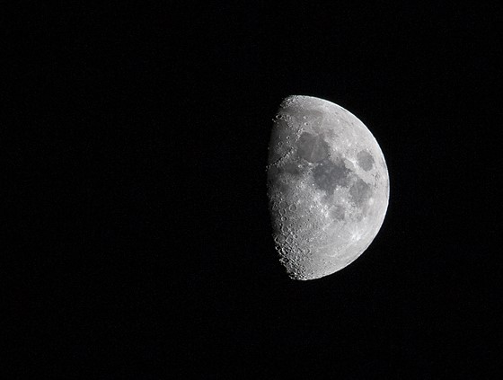 Canon 70d moon shot