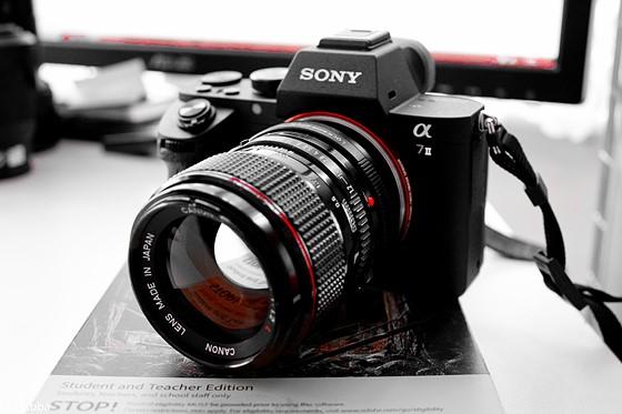 Re Sony A7ii Canon Fd 50mm F1 2 L Sony Alpha Nex E