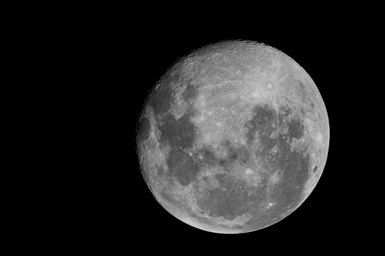 Moon At 1600mm On A7r Ii Sony Alpha Full Frame E Mount
