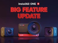 Major update for Inst360 ONE R action cam adds horizon lock, improved recording & more