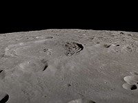 Video: Orbit around the moon for 4 hours in this real-time video