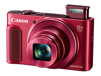 Canon PowerShot SX620 HS brings 25x optical zoom to pocketable form