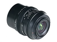 SLR Magic introduces E-mount Cine 25mm F1.4