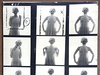 Rare, original Marilyn Monroe contact sheet by Bert Stern appears on eBay for $195K