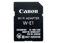 Canon offers SD card-shaped Wi-Fi adapter, EOS 7D II bundle