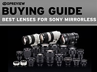 The best lenses for Sony mirrorless cameras