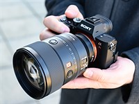 Hands-on with the Sony 135mm F1.8 GM