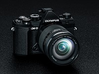 The new Olympus E-M5 Mark III is a mini E-M1 II