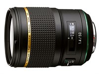 Pentax-D FA* 50mm F1.4 SDM AW lens shipping in July for $1199