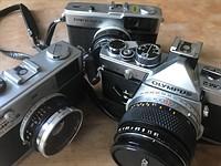 Film Fridays: 10 classic Olympus film cameras