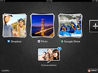 Cooliris lets you see all your photos in one app