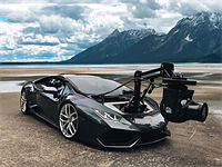 This Lamborghini is 'the world's fastest purpose-built camera car'