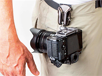 SpiderLight Holster offers quick access to lighter cameras