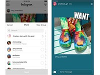Instagram now lets you share other people's photos in your Stories