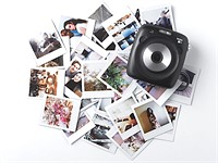 Fujifilm's SQ10 Instax Square camera is an instant/digital hybrid