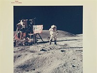 Sotheby's Space Photography auction includes NASA 'Red Number' prints