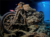 Photographing wrecks: the amazing world of undersea photography