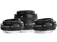 Lensbaby adds Canon RF, Nikon Z mount options to its most popular lenses