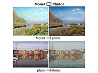 Image style AI can convert paintings to photographs