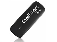 CamRanger Mini is half the size, two thirds of the price and has over twice the range