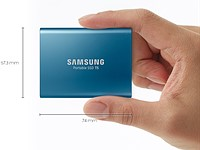 Super fast, tiny Samsung T5 portable SSD hits 540MB/s, can handle raw 4K video