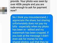 Record label insults photographer after using her photo without permission
