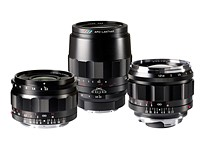 Cosina announced three new Voigtlander lenses at CP+