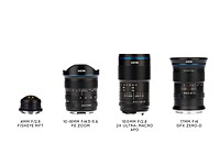 Venus Optics reveals four new Laowa lenses for Sony FE, Fuji GFX, and more