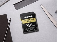 Toshiba releases new UHS-II EXCERIA Pro SD cards in 32GB, 64GB, 128GB and 256GB capacities