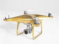 DJI Phantom 4 drone with 24-carat gold plating goes on sale for £20k