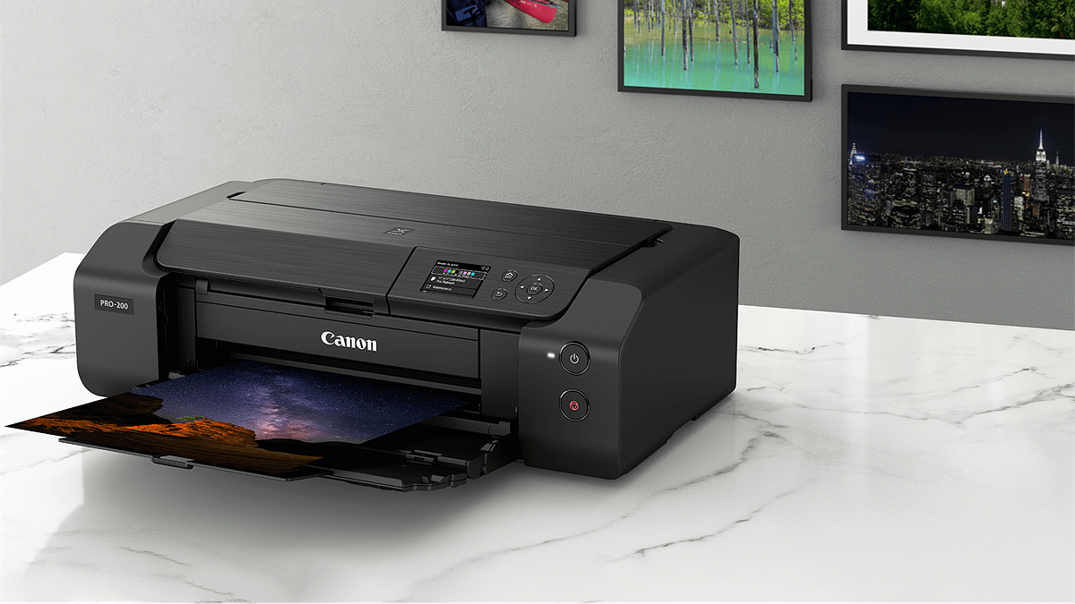 Canon Australia Announces The Pixma Pro 200 Professional Photo Printer With An 8 Ink System Digital Photography Review