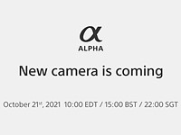 Sony teases the Sony a7 IV, confirms October 21 announcement