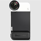 The Shuttercase 2.0 is an iPhone camera case with battery grip, mechanical shutter button