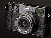 The Fujifilm X100V is our favorite prime lens compact camera