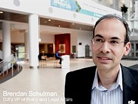Brendan Schulman, DJI's VP of Policy & Legal Affairs, leaves DJI