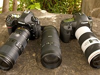 DPReview TV: 70-200mm F4 lens shootout