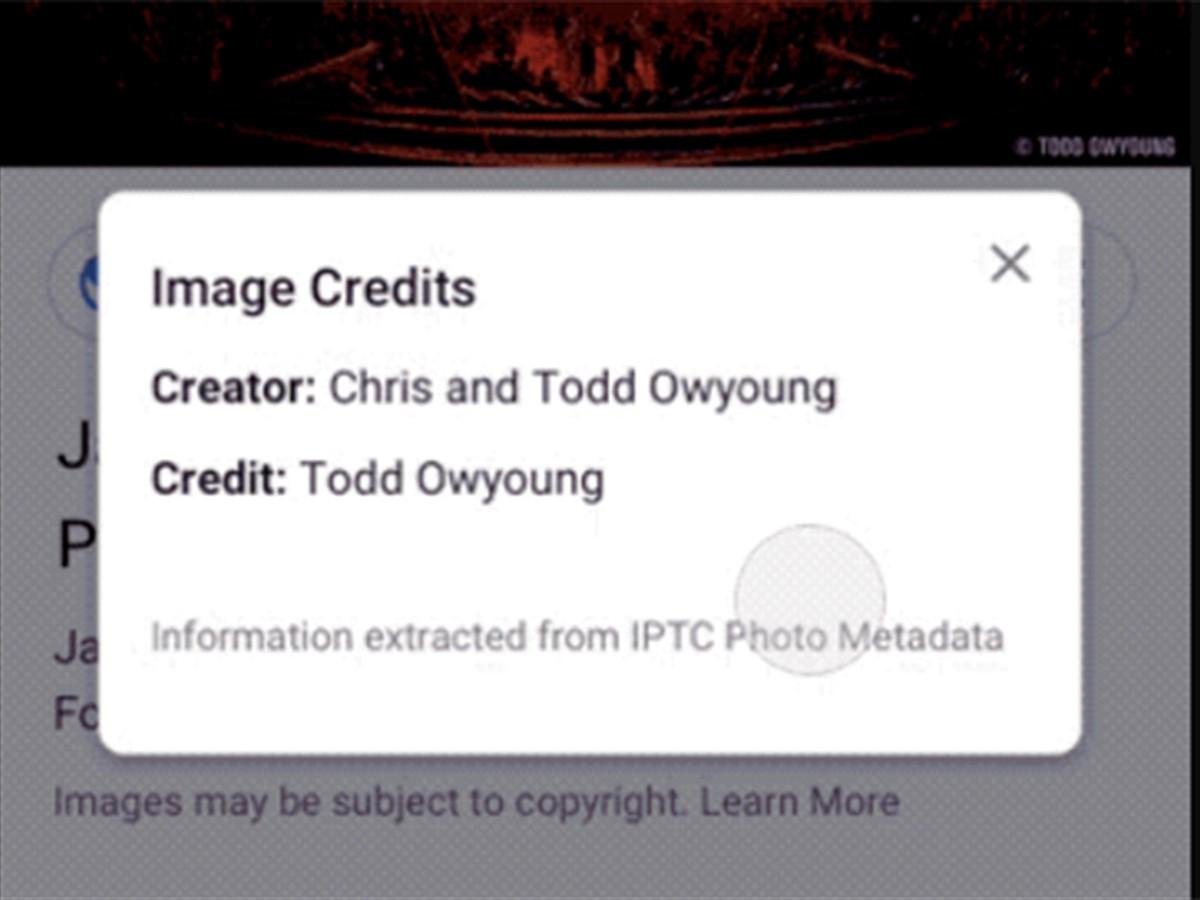 Google Images Adds Creator And Credit Metadata To Photos