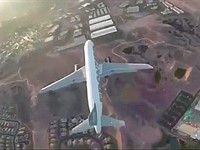 Reckless drone video under investigation for flying directly above passenger jet