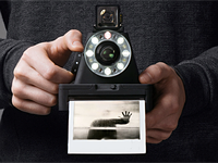 Impossible Project unveils I-1 instant camera for 600-type film