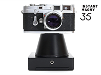 Instant Magny 35 is a film back that turns SLRs and rangefinders into instant cameras