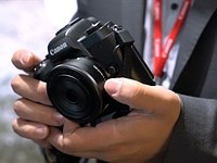 Photokina 2016: Canon EOS M5 quick look video