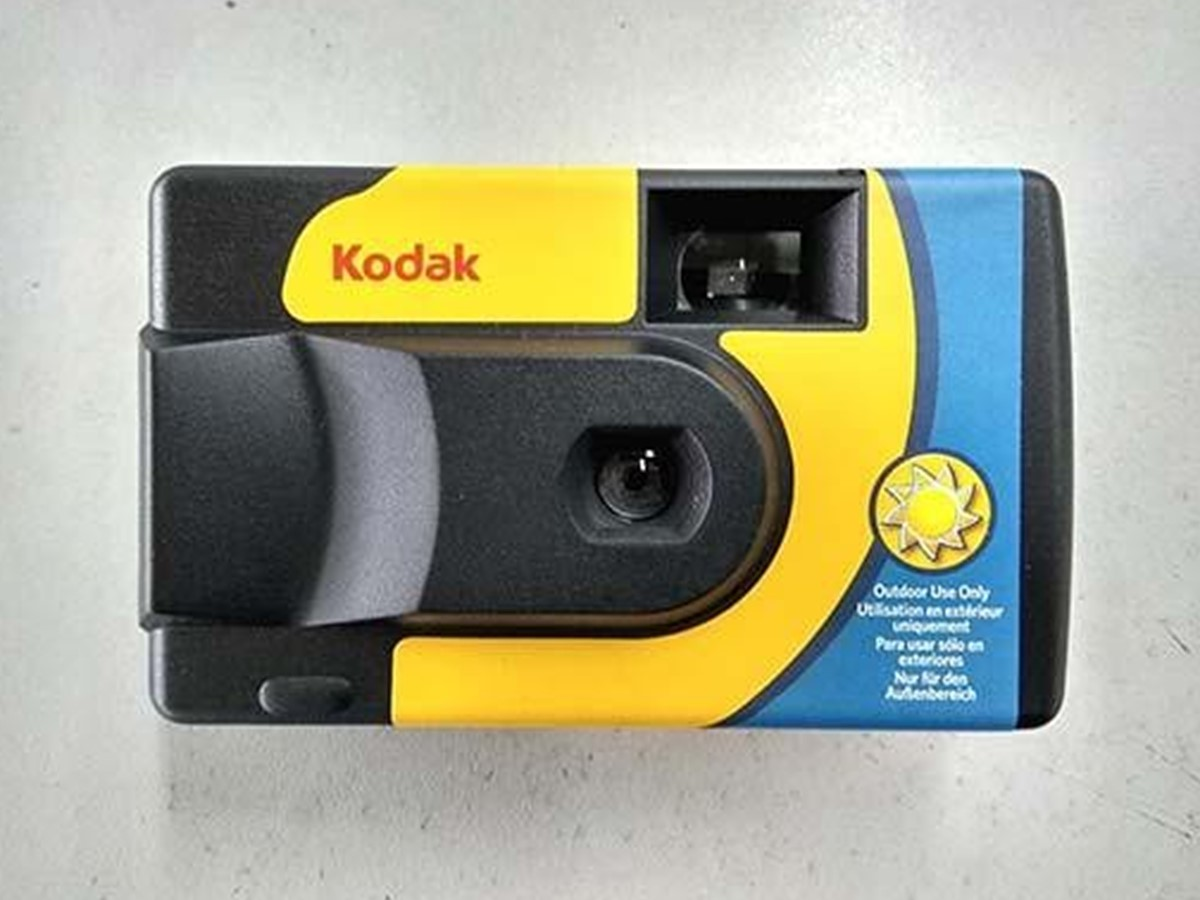Kodak Daylight Single Use disposable camera launched in