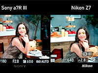 CP+ 2019: Nikon Z7 Eye AF side-by-side with Sony a7R III