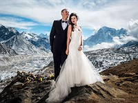 Mt. Everest: The ultimate wedding photography gig?